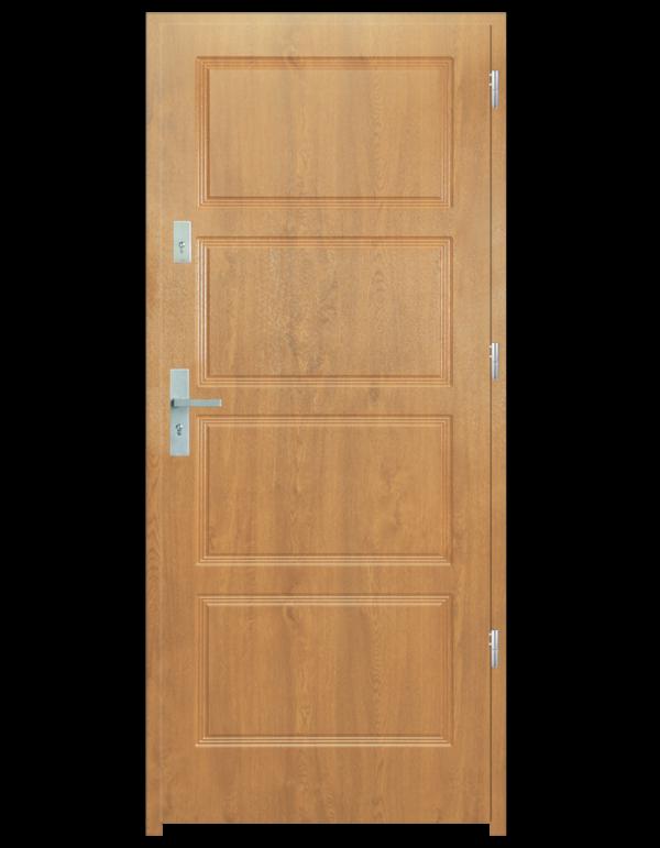 Drzwi wejściowe MAX Dąb Bielony