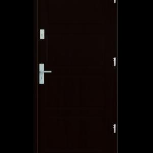 Drzwi wejściowe MAX Kasztan