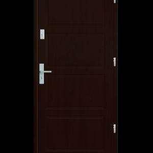 Drzwi wejściowe MAX Orzech Ciemny