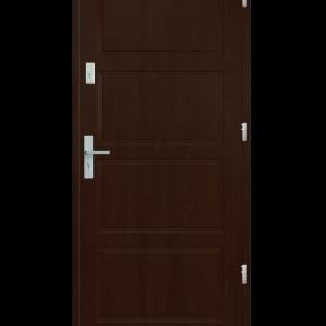 Drzwi wejściowe MAX Orzech Jasny