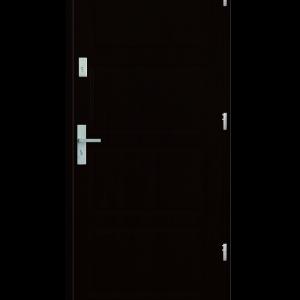 Drzwi wejściowe MAX Wenge