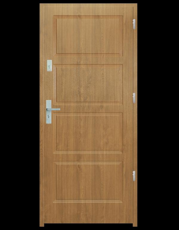 Drzwi wejściowe MAX Zebrano