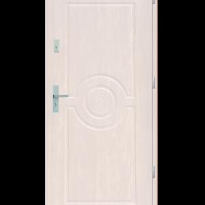 Drzwi wejściowe Sun Biały
