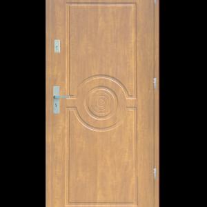 Drzwi wejściowe Sun Dąb Bielony