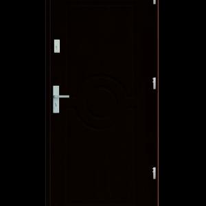 Drzwi wejściowe Sun Kasztan