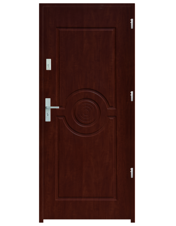 Drzwi wejściowe Sun Mahoń