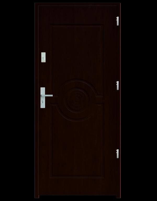 Drzwi wejściowe Sun Orzech Ciemny