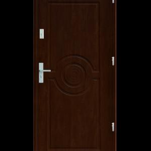 Drzwi wejściowe Sun Orzech Jasny