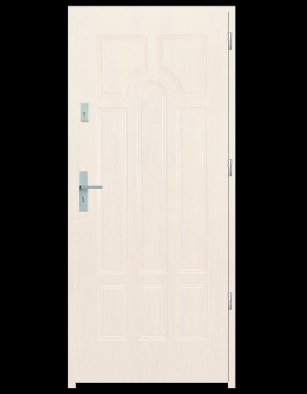 Drzwi wejściowe Szafir Biały