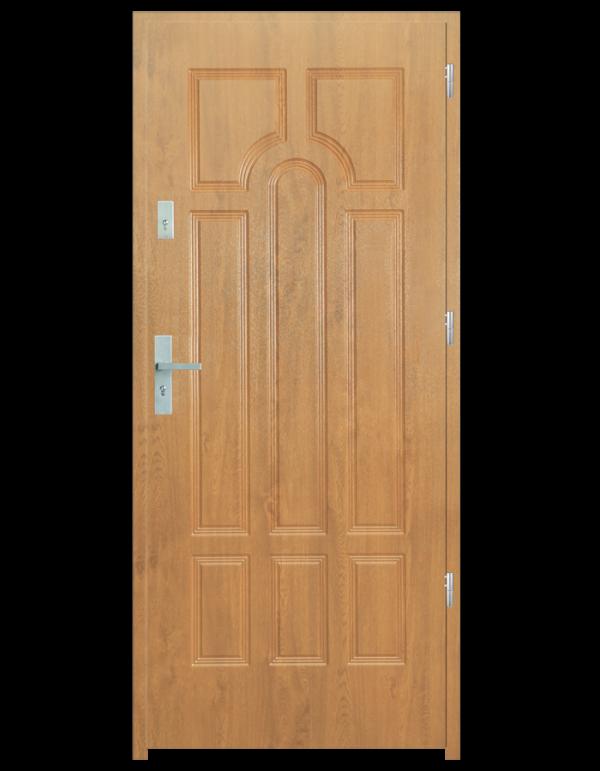 Drzwi wejściowe Szafir Dąb Bielony