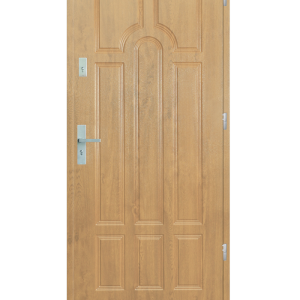 Drzwi wejściowe Szafir Dąb Patyna