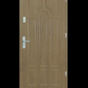 Drzwi wejściowe Szafir Jesion