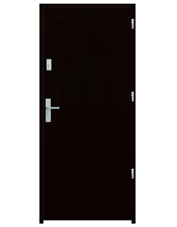 Drzwi wejściowe Szafir Kasztan