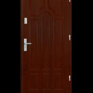 Drzwi wejściowe Szafir Mahoń
