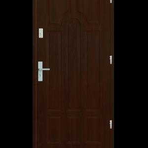 Drzwi wejściowe Szafir Orzech Jasny