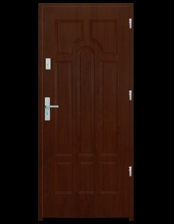 Drzwi wejściowe Szafir Wiśnia