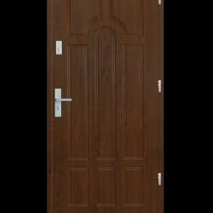 Drzwi wejściowe Szafir Złoty Dąb