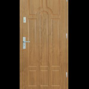 Drzwi wejściowe Szafir Zebrano