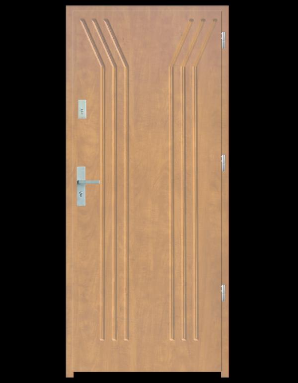 Drzwi wejściowe Y Dąb Bielony