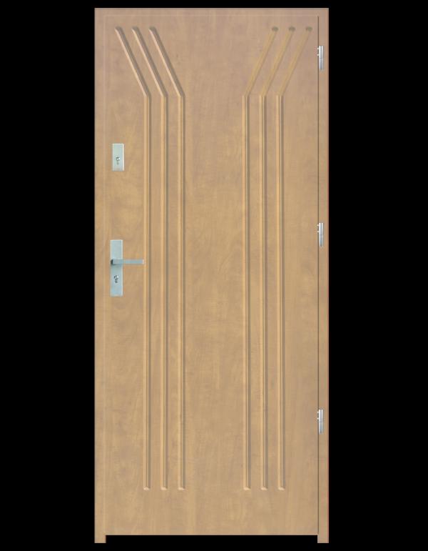 Drzwi wejściowe Y Dąb Patyna