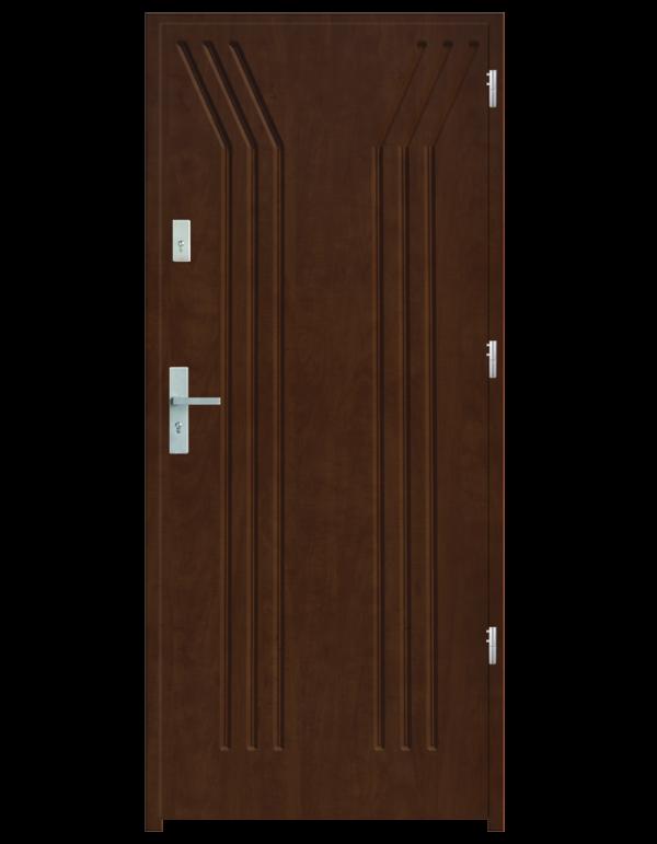 Drzwi wejściowe Y Dąb Złoty