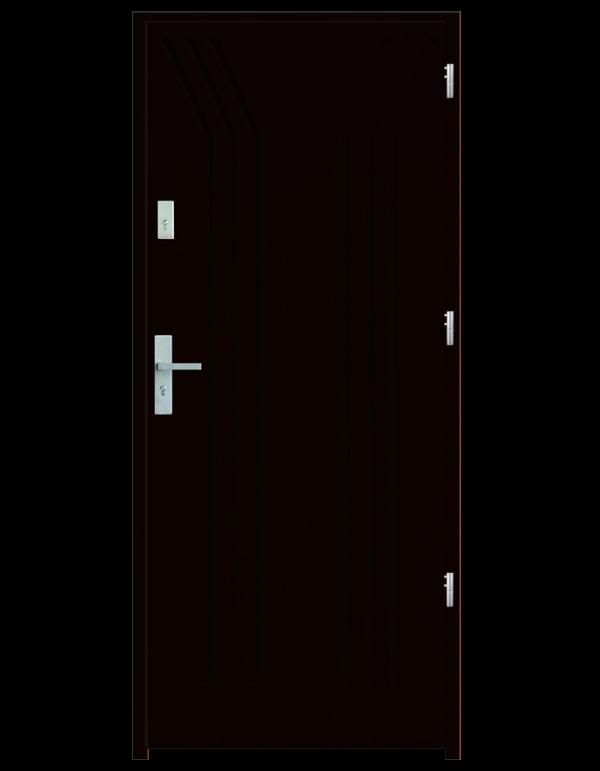 Drzwi wejściowe Y Kasztan