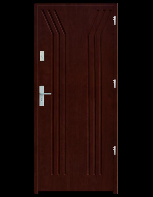 Drzwi wejściowe Y Mahoń