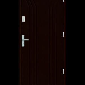 Drzwi wejściowe Y Orzech Ciemny