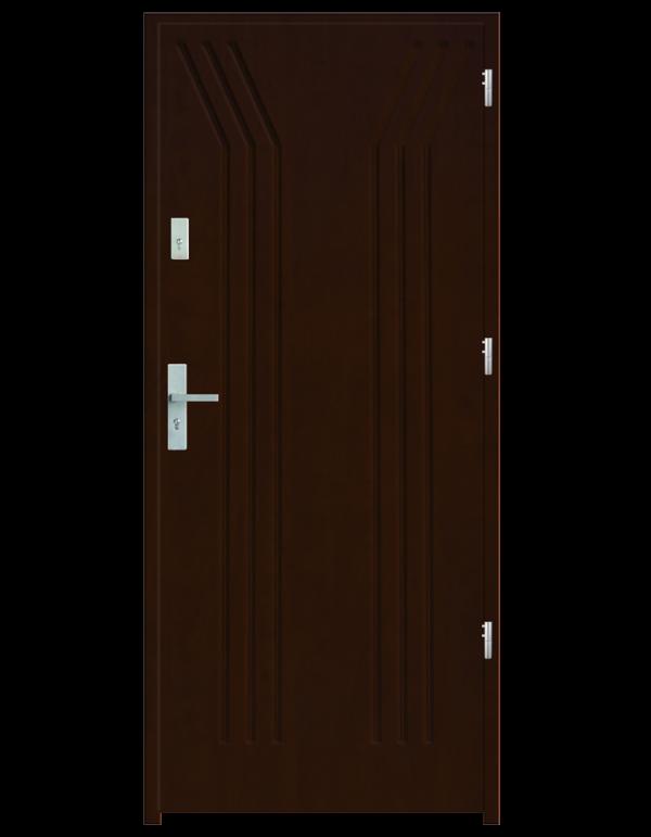 Drzwi wejściowe Y Orzech Jasny