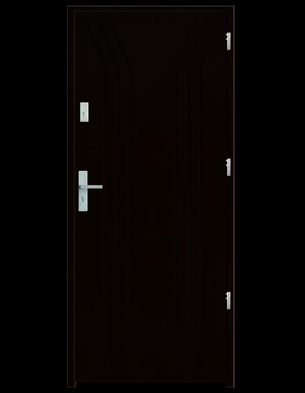 Drzwi wejściowe Y Wenge