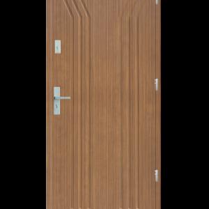 Drzwi wejściowe Y Zebrano