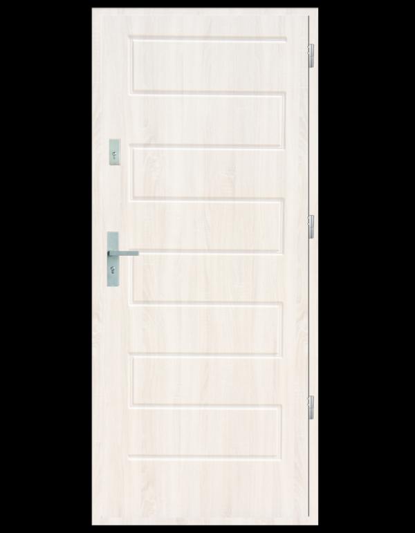 Drzwi wejściowe Z Biały