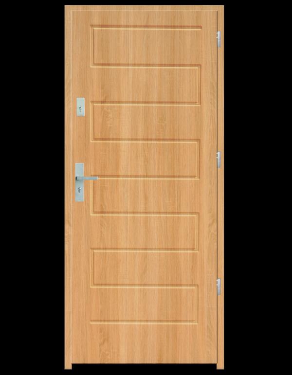 Drzwi wejściowe Z Dąb Bielony