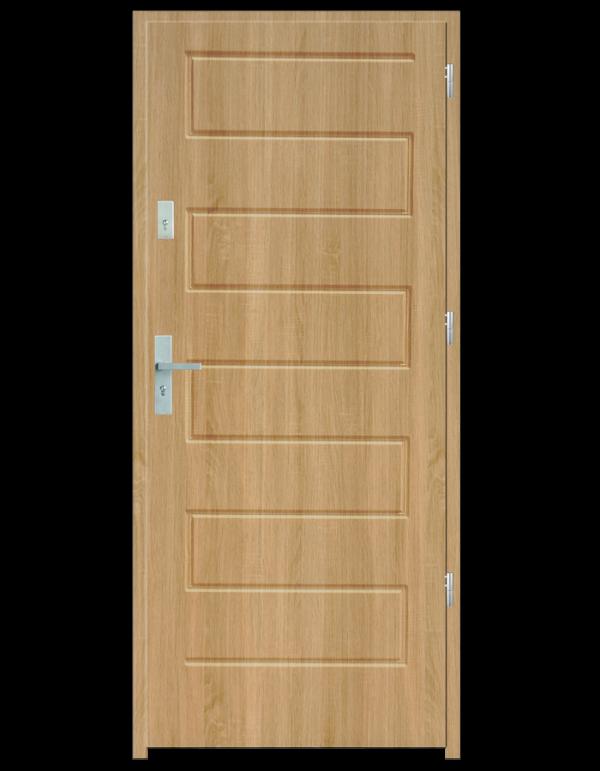 Drzwi wejściowe Z Dąb Patyna