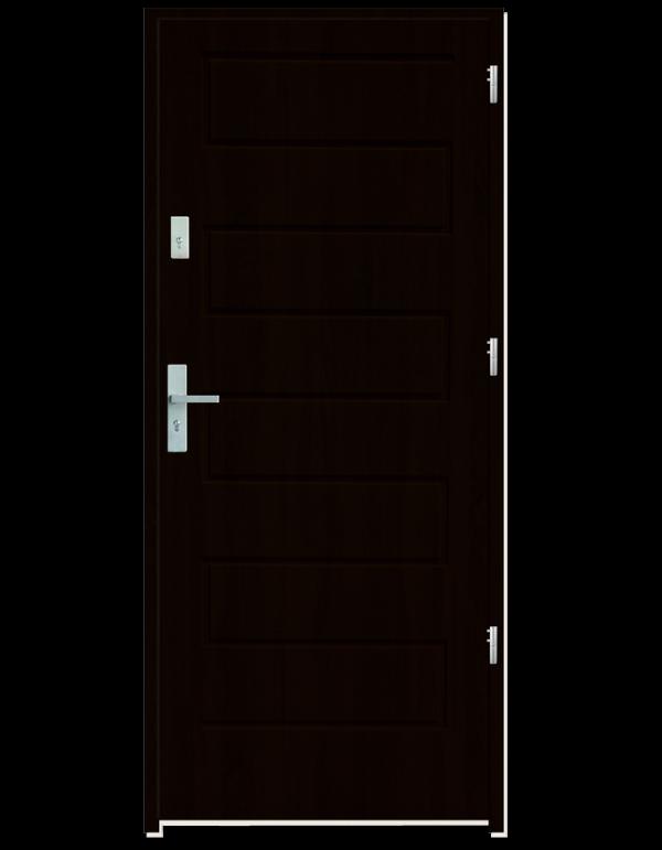 Drzwi wejściowe Z Kasztan