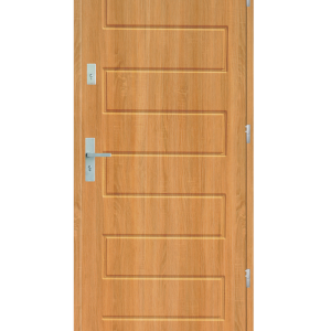Drzwi wejściowe Z Olcha