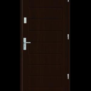 Drzwi wejściowe Z Orzech Ciemny