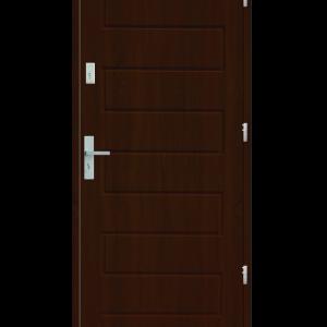 Drzwi wejściowe Z Orzech Jasny