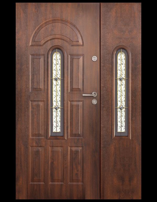 drzwi wejściowe dwuskrzydłowe Minos