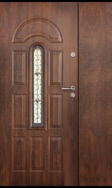 drzwi wejściowe dwuskrzydłowe Klara