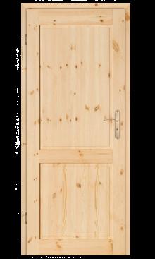 Drzwi sosnowe Juhas sęczne