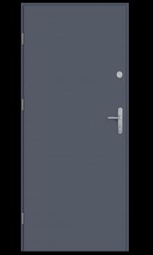 drzwi lak gładki