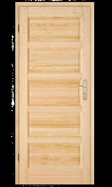 """Drzwi sosnowe Manhattan Drewno """"5"""" 1"""