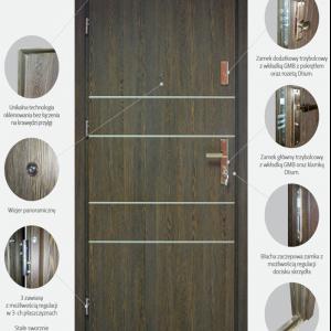 Drzwi wejściowe Ferro budowa