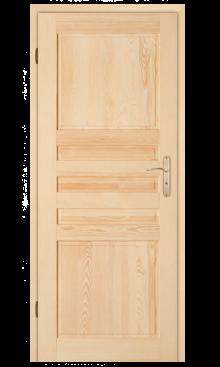 Drzwi sosnowe Zebra Drewno 1