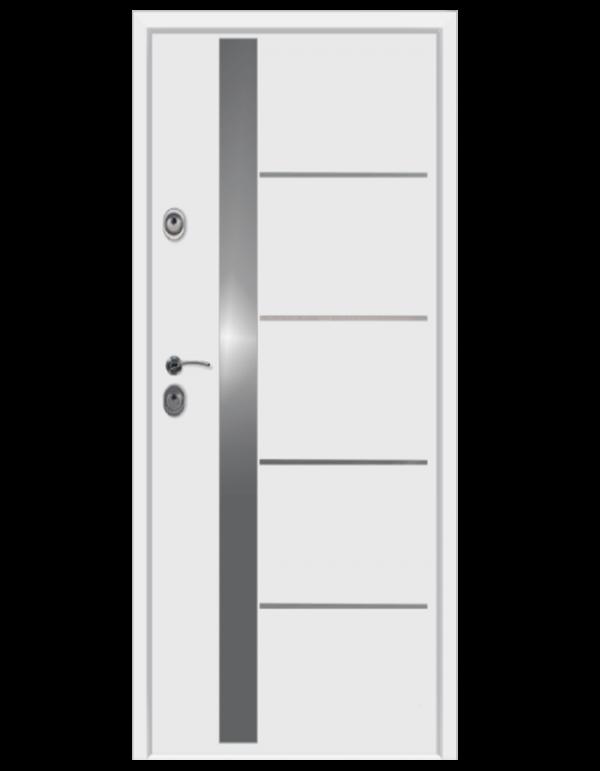 Drzwi wejściowe De Lux 56S biel
