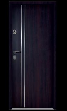 Drzwi wejściowe Royal 84WKW Inox
