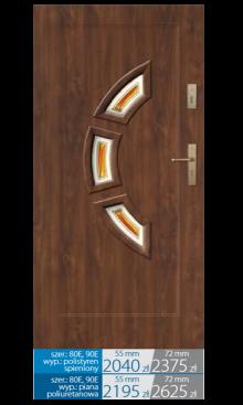 Drzwi wejściowe Q16