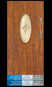 Drzwi wejściowe Q17