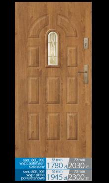 Drzwi wejściowe Q21